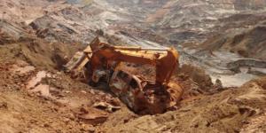 acidente mineração